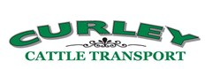 Logo for curley cattle transport