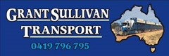 Logo for grant suillivan transport